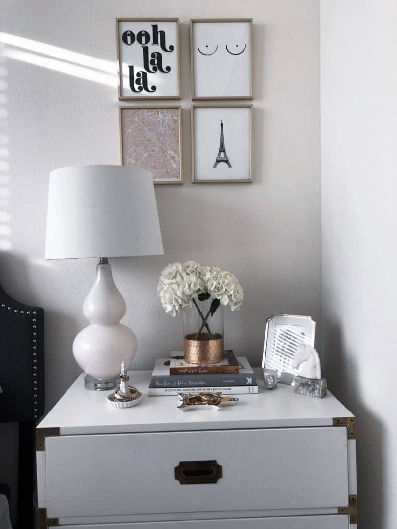amazon things to buy on, amazon finds, amazon clothes, amazon beauty, amazon fashion, amazon home decor, nightstand decor, nightstand ideas   Amazon Favorites featured by top Dallas fashion blog, Never Without Lipstick: french inspired prints
