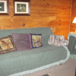 princess pine cottage davo bed area