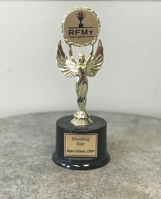 RFMA Shooting Star Award 2018