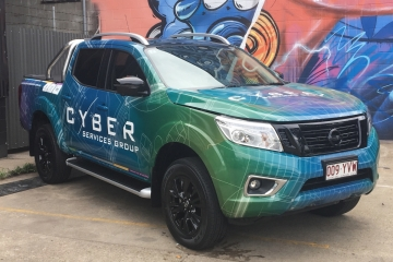 Cyber Services Digital Print Wrap