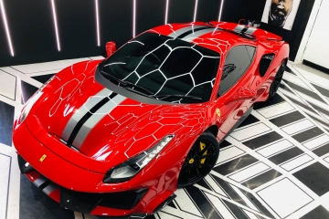 Ferrari Pista Paint Protection