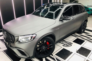 Mercedes GLC Colour Change