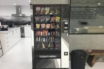Spine St Studios Vending Machine Wrap