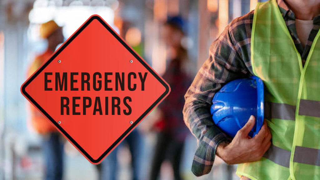 Emergency Commercial Construction Repairs in New Jersey