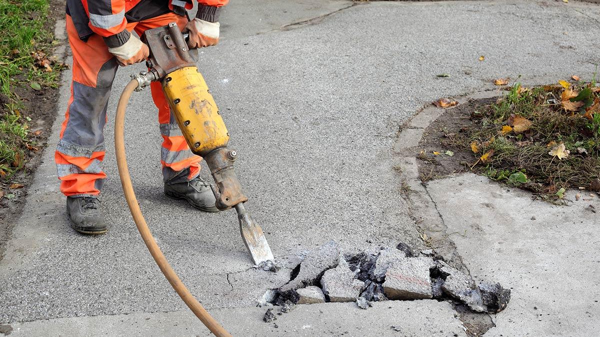 Commercial Asphalt and Concrete Repair