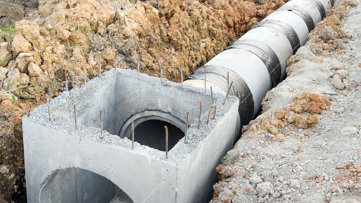 NJ Storm and Underdrain Repair and Installation
