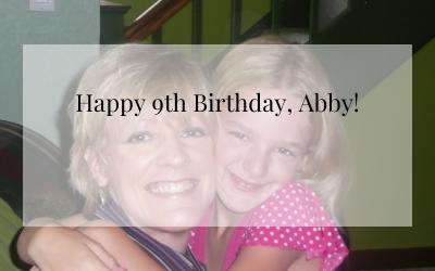 Happy 9th Birthday, Abby!