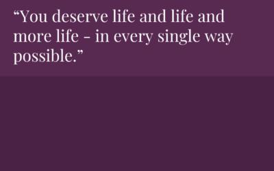 Choose life – and life – and life