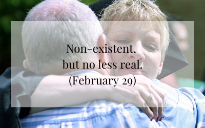 Non-existent, but no less real (February 29)