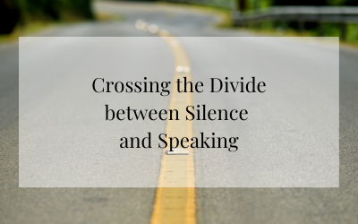 Crossing the Divide between Silence and Speaking