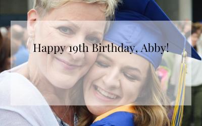 Happy 19th Birthday, Abby!