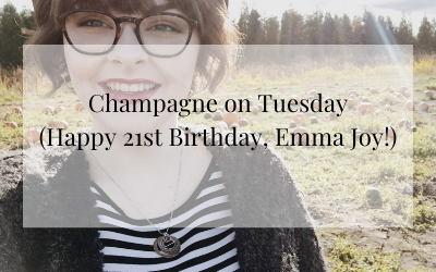 Champagne on a Tuesday