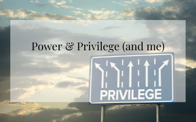Power & Privilege (and me)