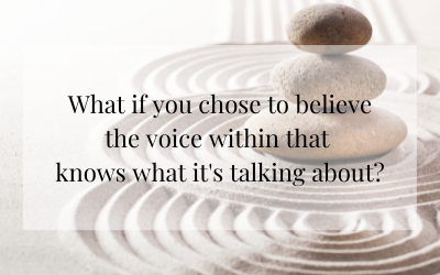 Believing the Voice Within You
