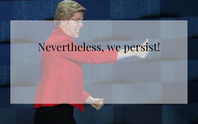 Nevertheless, we persist!