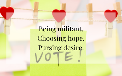 Militancy + Hope + Desire