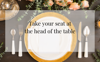 Take your seat at the head of the table