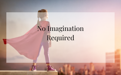 No imagination required…