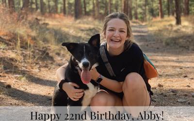 Happy 22nd Birthday, Abby!