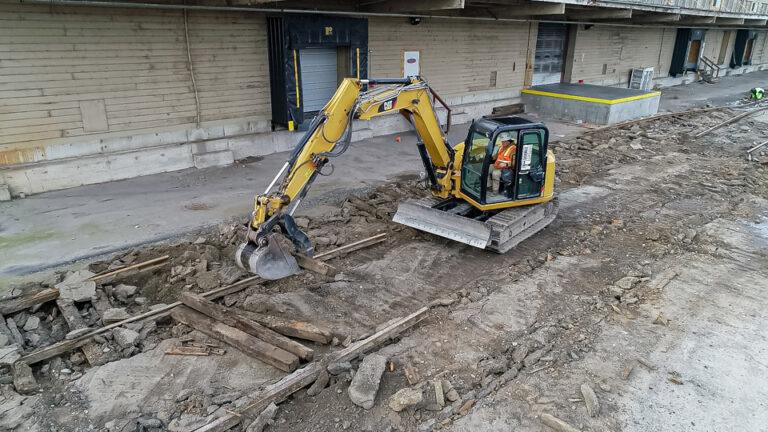 Excavation Aerial 4