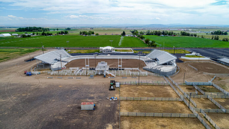 Hermiston Rodeo Arena Aerial 1