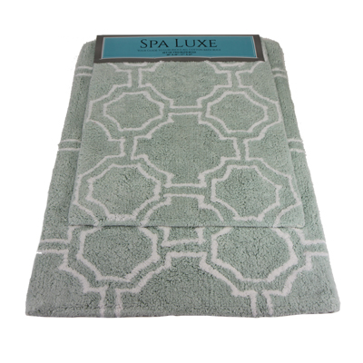 Spa Luxe Cotton Bath Rug Set