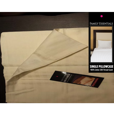 Family Essentials Single Pillowcase