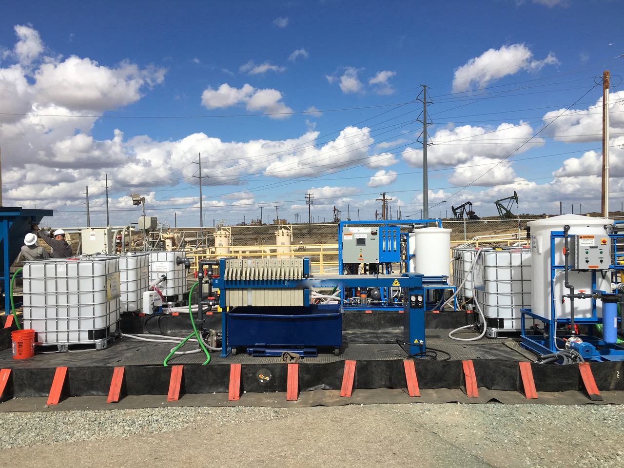 Our latest paper on produced water treatment for reuse in CA