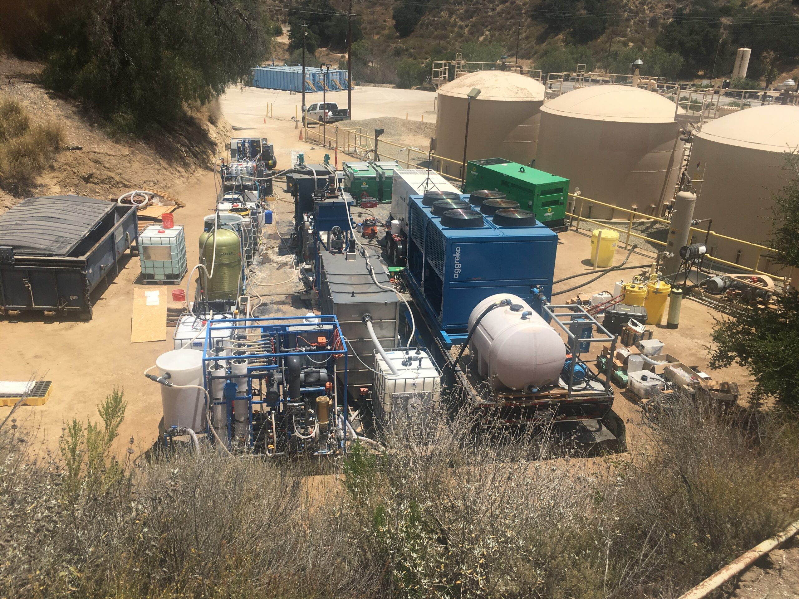 Project: Design, build and operate a high recovery reverse osmosis process for desalination of oilfield produced water