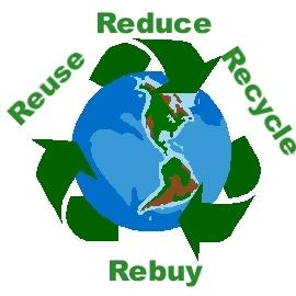 reduce reuse recycle rebuy