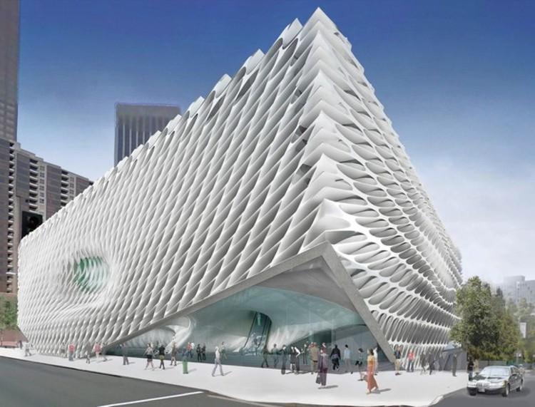 Los Angeles modern Broad Musuem