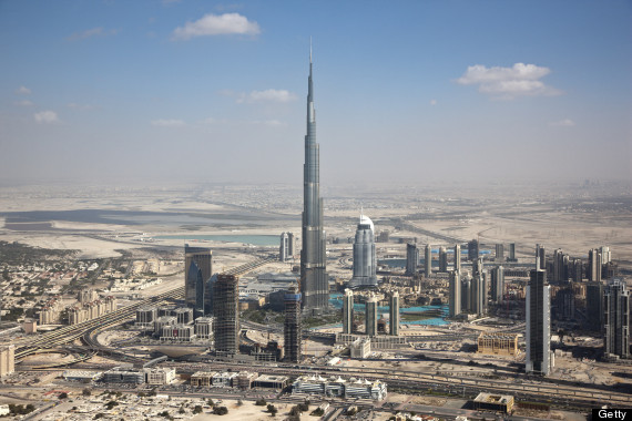 Highest building in world Burj-Khalifa-Dubai