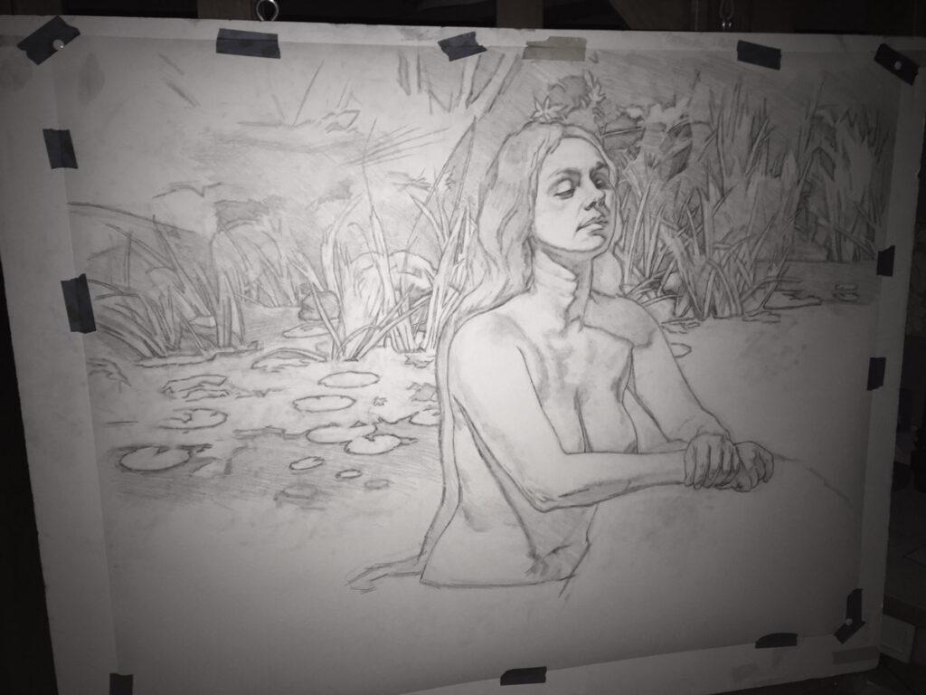 drawing-mermaid