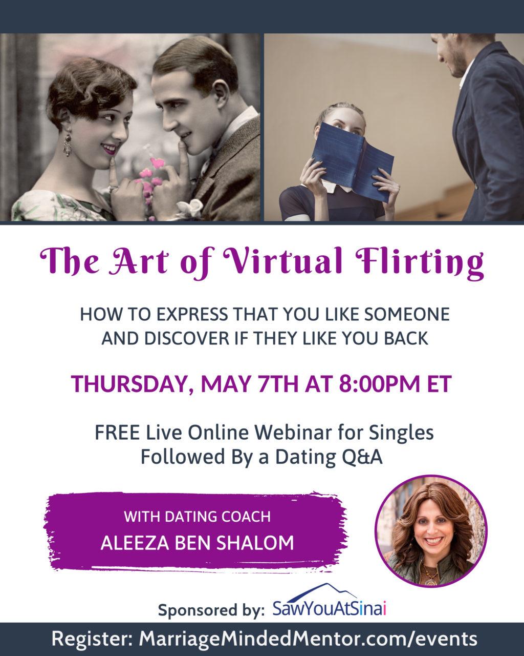 Art of Virtual Flirting