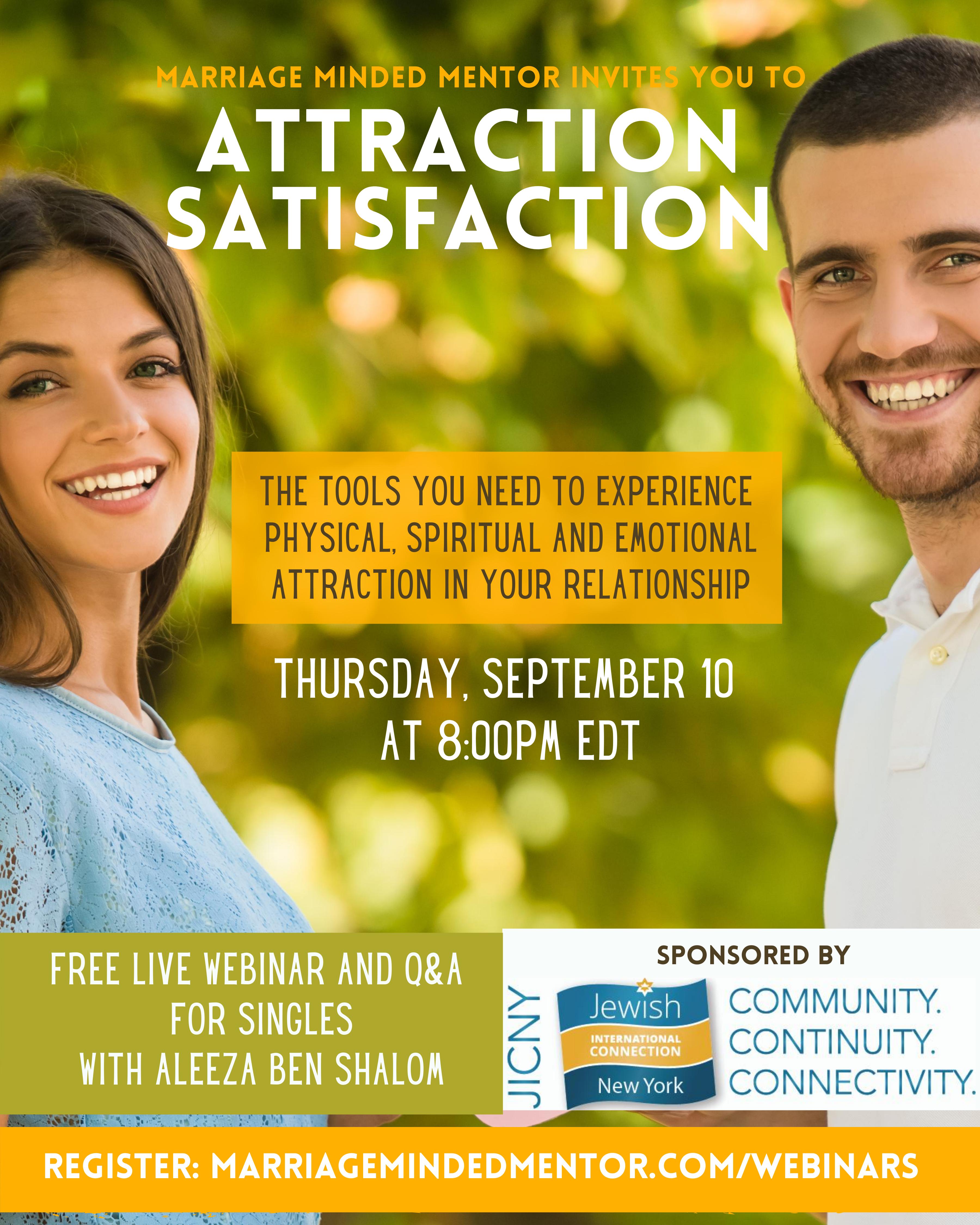 Attraction Satisfaction