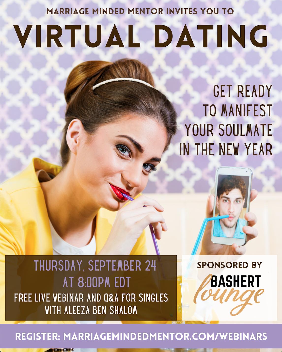 virtual dating webinar