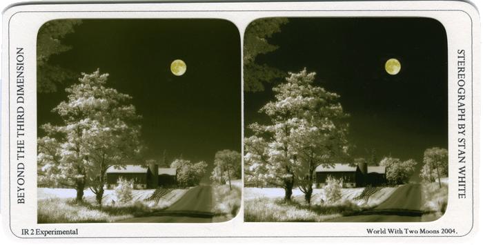 Farm With Moon