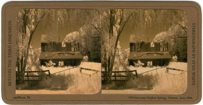 Old Barn Near Spring