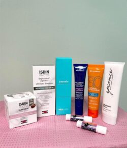 SUNSCREENS Use one of our wide array of sunscreens to help preserve your beauty and protect you from dangerous UV rays