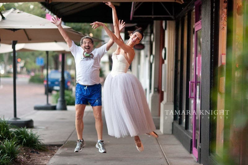 Sun Rise Ballet Magic {by Orlando Photographer Tamara Knight Photography} 1