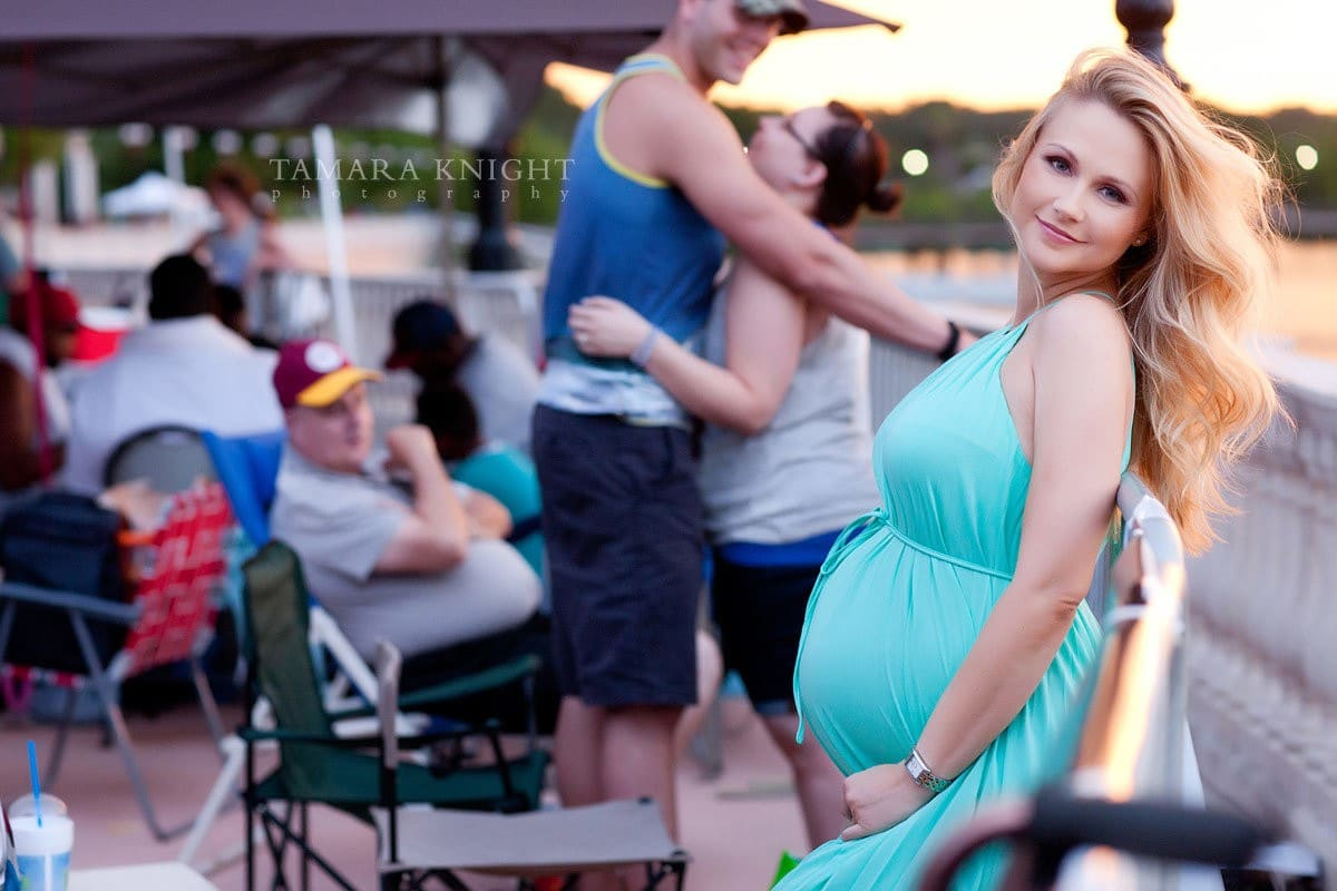 Beautiful mother to be by Orlando photographer, maternity photoshoot,, Red hot and boom