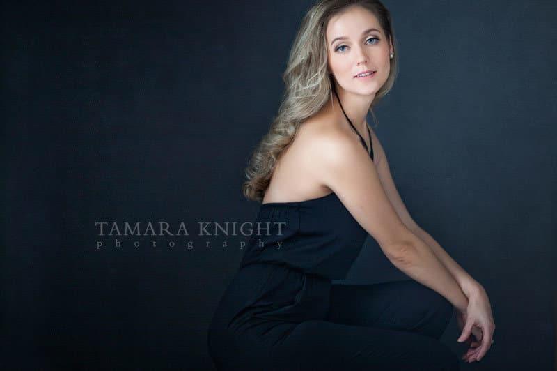 Beautiful woman, modern portrait done by Orlando photographer