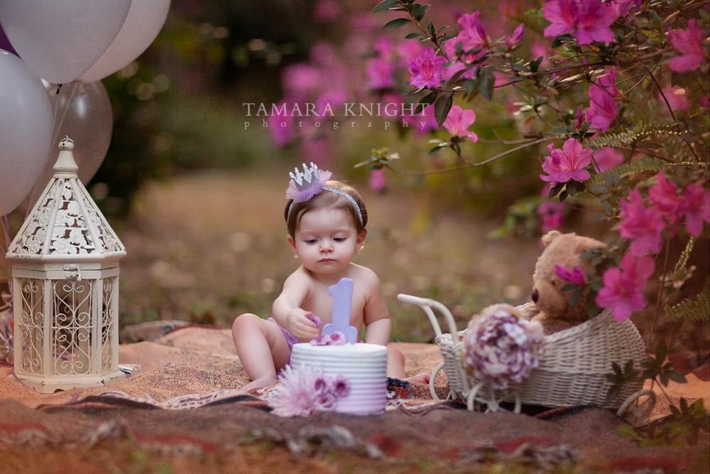 Smash the Cake Session {by Orlando Baby Photographer} 3