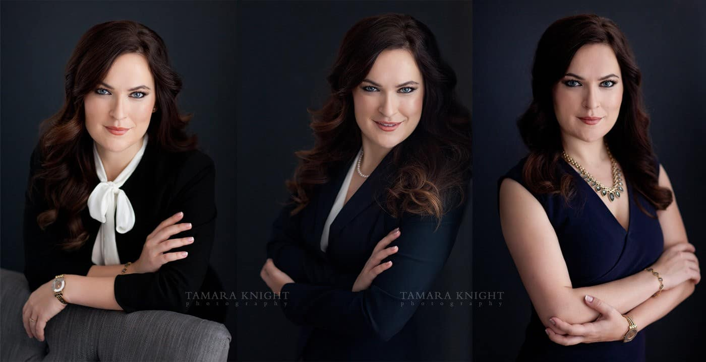 Orlando new and modern headshots, including hair and makeup, done by your Orlando Headshot Photographer