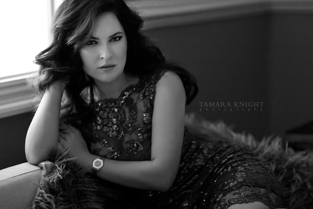 Beautiful black and white portrait of a beautiful young woman by a modern beauty photographer, hair and makeup, Orlando photographer, Orlando beauty