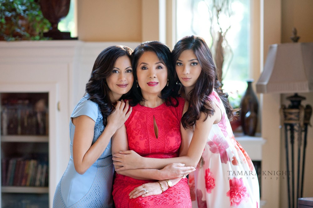 Three generations - three beautiful ladies by Orlando family photographer