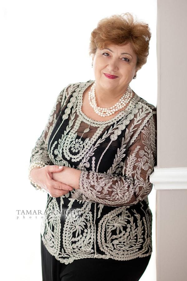 Beautiful mature lady beauty shot by Orlando photographer