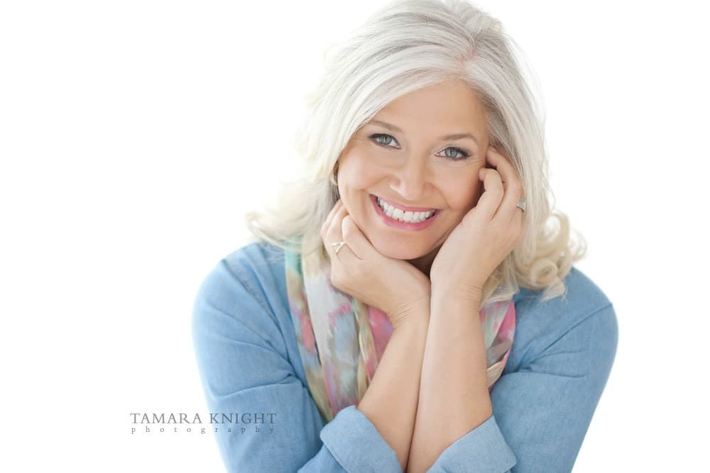 A beauty portrait for a stunning mature woman by Orlando photographer