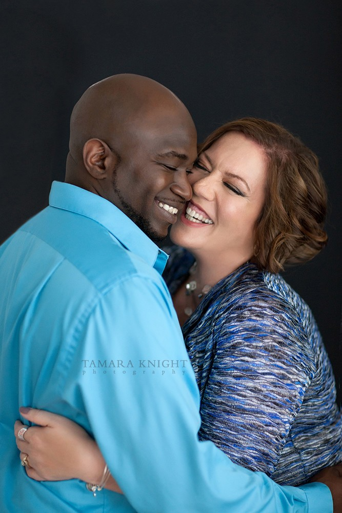April & Rob Cox laughing couple by Tamara Knight Personal Branding Photographer