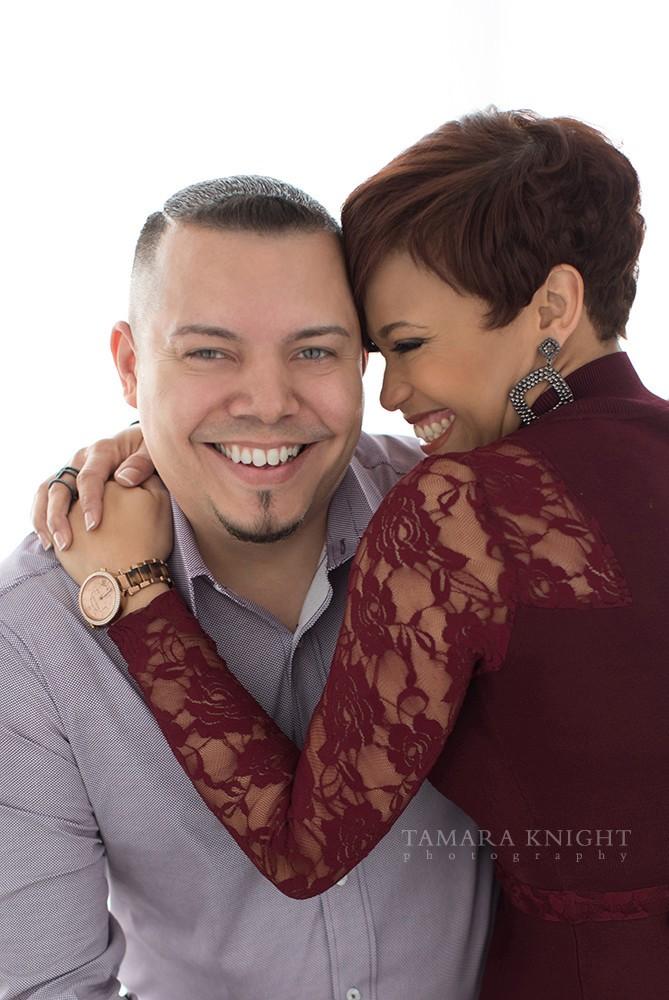 couples-photoshoot-burgundy-lace-dress | Tamara Knight Photography